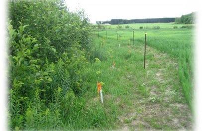 Milieu agricole au ruisseau Lanthier : deux vitrines d'aménagement