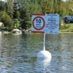 Communiqué de presse: Projet de signalisation sur le lac des îles